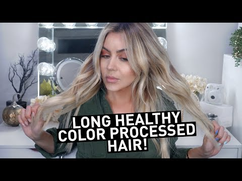 Hair color - 5 Tips for Long HEALTHY Color Processed hair