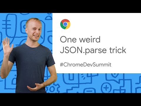 Faster apps with JSON.parse (Chrome Dev Summit 2019)