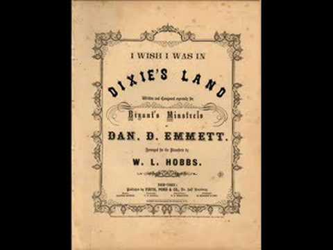 ♫Dixie's Land♫ (1916 Recording)