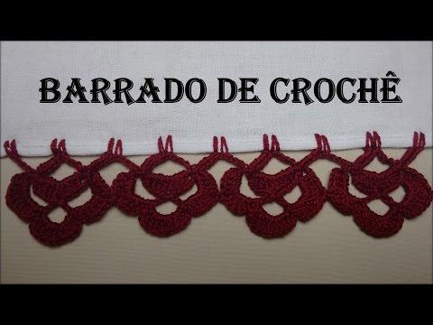 Barrado de Crochê Trevinho - Carreira Única