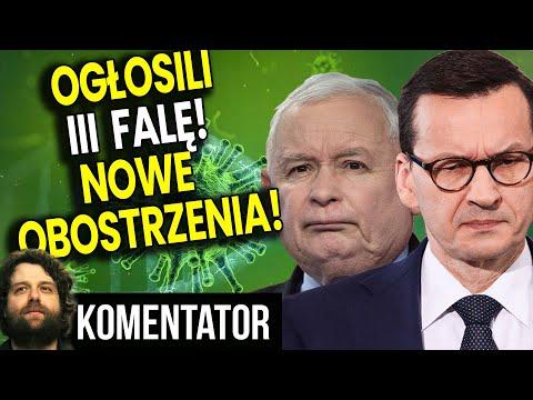 PIS OFICJALNIE Ogłosił III Falę i Zapowiada Nowe Obostrzenia - Analiza Konferencji u Premiera Ator