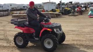 7. 2009 Polaris 400cc Quad, Lot #74