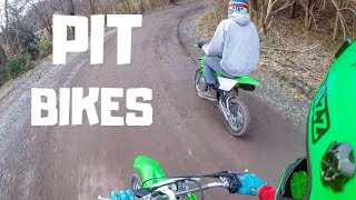 5. GETTING USED TO THE NEW PIT BIKES | KLX110