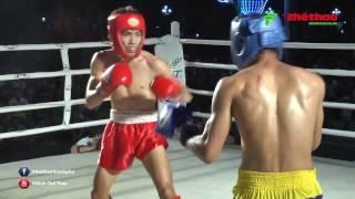 Trận chung kết kickboxing toàn quốc 2017 đã diễn ra cực kì sôi nổi, kết quả chung cuộc Nguyễn Thanh Trung để thua võ sĩ Phạm Bá Hợi Video được sản xuất bởi Báo thể thao thành phố Hồ Chí MinhFacebook:  https:// facebook.com/thethaothanhpho/ Website: https:// thethaohcm.vnNhấn nút đăng kí để liên tục cập nhật những tin tức thể thao mới nhất ở trong và ngoài nước.Cám ơn bạn đã quan tâm Báo Thể Thao Thành Phố HCM