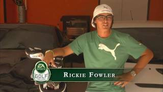 In this interview you get to learn a little bit more about how Rickie Fowler got into golf, how he prepares for the game,  what life is like on the PGA Tour and a look at Rickie Fowler in EA Sports Tiger Woods PGA Tour 2012.