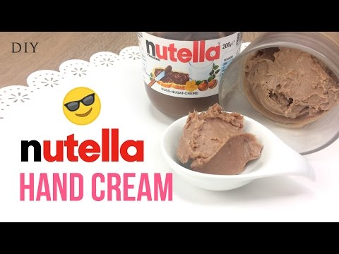 DIY 3-Ingredient NUTELLA Hand Cream!! EASY To Make