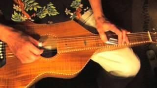 "Lesson Lap Slide Guitar - Free Tab - Part 5/5 ""Blues On My Lap"""