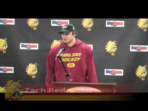 Hockey Defensemen Redmond Post Game 12/3/10