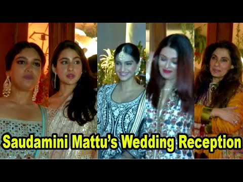 Bhumi Pednekar, Sara Ali Khan, Sonam Kapoor & Many Celebs Attend Saudamini Mattu's Wedding Reception
