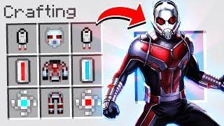 Video CRAFTING ANT-MAN ARMOR IN MINECRAFT! MP3, 3GP, MP4, WEBM, AVI, FLV Maret 2019