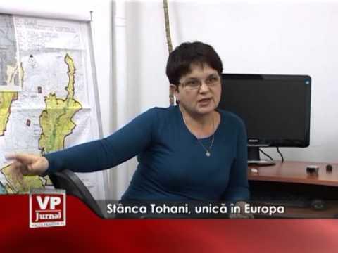 Stânca Tohani, unică în Europa