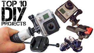 Video Best DIY GoPro Mounts MP3, 3GP, MP4, WEBM, AVI, FLV September 2018