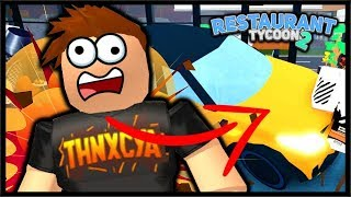 A GUEST TRIED TO DESTORY MC'RONALDS!? | Roblox Restaurant Tycoon 2