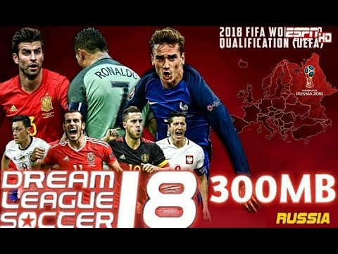 Dream League Soccer 2018 Mod FIFA World Cup Russia 2018 | Android Offline 300MB