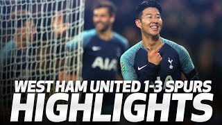 Video HIGHLIGHTS | West Ham United 1-3 Spurs (Carabao Cup Fourth Round) MP3, 3GP, MP4, WEBM, AVI, FLV Agustus 2019