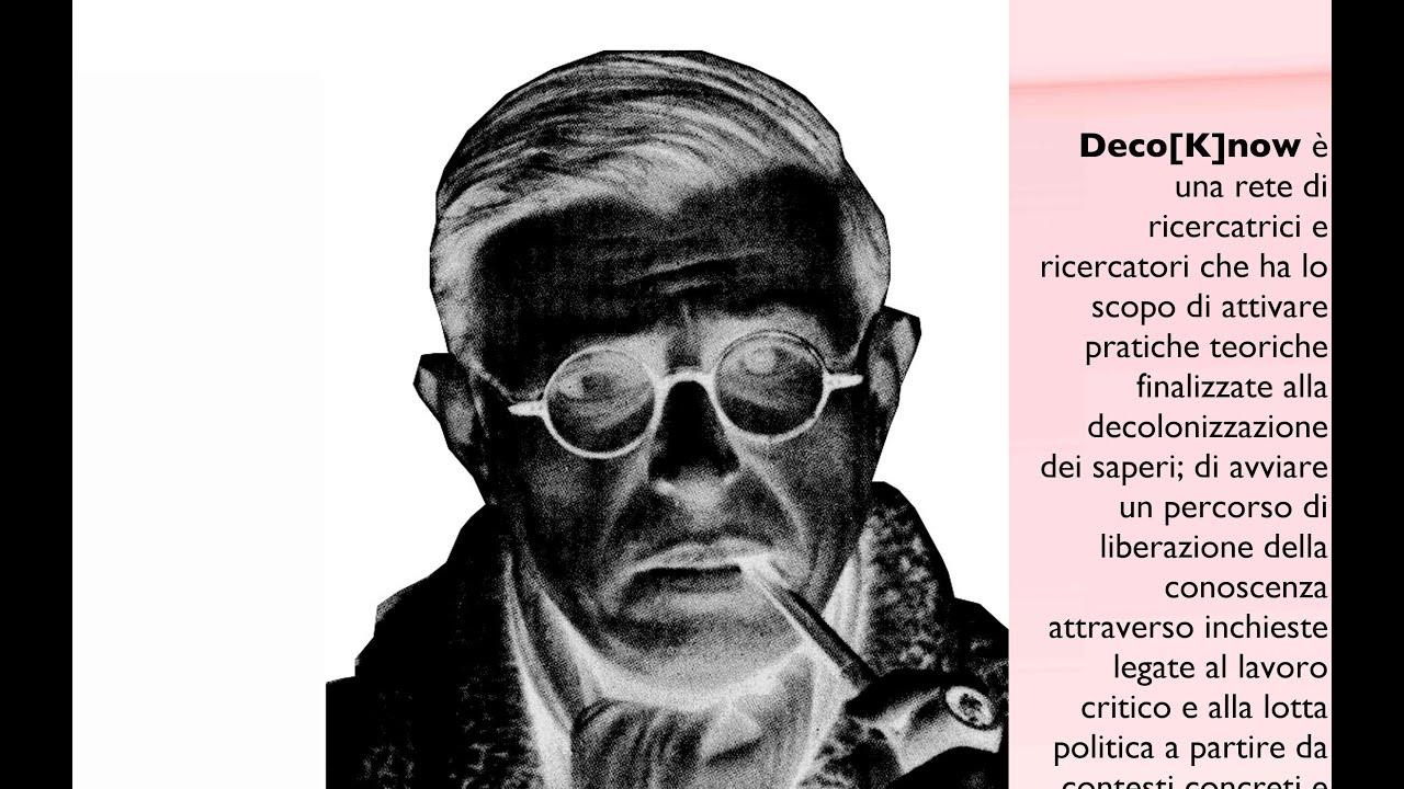 I seminari di DecoKnow: 4. Jean-Paul Sartre, con Carla Pasquinelli
