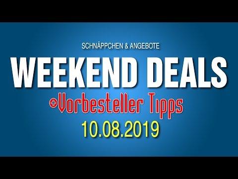 SCHNÄPPCHEN + VORBESTELLER TIPPS || Weekend Deals || 10.08.19