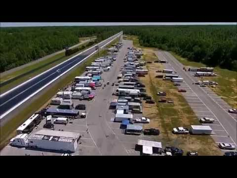 Maryland International Raceway FBG Summer Nats Fly Over