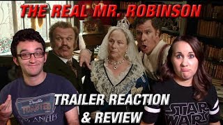HOLMES AND WATSON Official Trailer Reaction and Review with ADORKABLE RACHEL