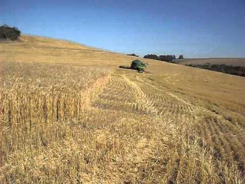 Sts 9570 colhendo trigo safra 2011 santa tereza do oeste paraná