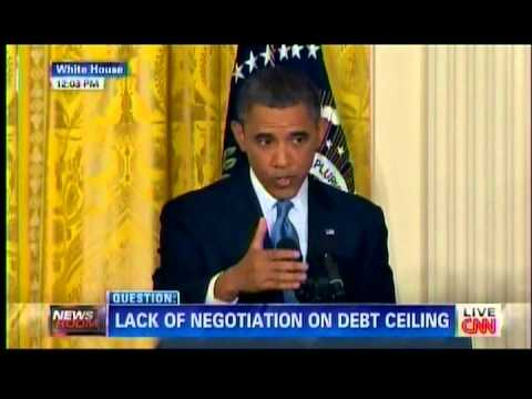 Obama Dodges Question About His Own Vote Against Raising The Debt Ceiling