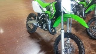 2. NEW 2012 kawasaki KX65 Pit Bike Walk Around/Review