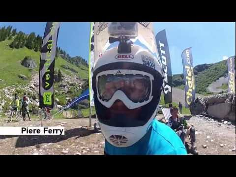FMB World Tour GoPro Course Preview - Châtel Mountain Style (видео)