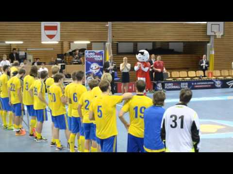 ,,Euforie'' Švédska při předání poháru