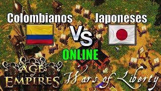 Celebrando el 20 de julio día de la independencia de Los Colombianos jugamos Con los Colombianos vs Japoneses de Japón...