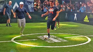 Video Sean Garnier & Herrera vs Zidane & Enzo ✖ Football Skill Match MP3, 3GP, MP4, WEBM, AVI, FLV Mei 2017