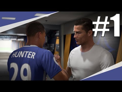 FIFA 18 | The Journey: Hunterův Návrat | Dres Od Ronalda!? | PART 1 | CZ/SK