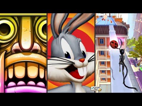 Temple Run 2 👨🚀HOLI EXPEDITION Vs Looney Tunes Dash! 🦆Vs Miraculous Ladybug & Cat Noir 🐞LADY NOIR