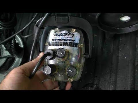 """Scuba Diving with Detectorpro's """"Underwater"""" Metal Detector"""