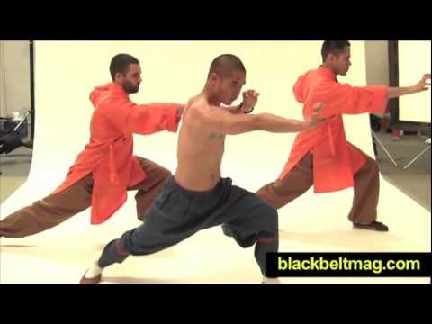 shaolin munk - http://www.blackbeltmag.com?video=1 In this exclusive video, a genuine Shaolin monk shows you