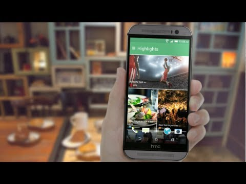 HTC One (M8) - Stay updated on what matters to you with HTC BlinkFeed