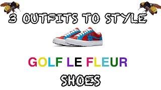 3 OUTFITS TO STYLE GOLF LE FLEURS SHOES * MOLTEN LAVA/ DIVA BLUE EDITION *