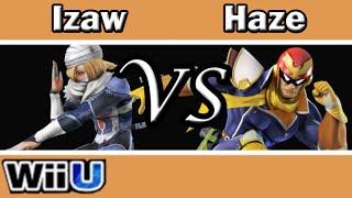 Smash 4 Izaw(Sheik) vs Haze(C.Falcon): Izaw's Sheik is a joy to watch