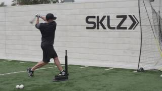 V-Tee Finisher Swing Drill