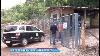 Polícia investiga roubo de carga de explosivos de empresa em Salto de Pirapora
