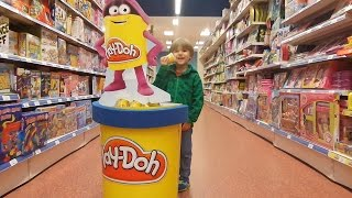 Shopping for New Lego Minecraft Disney Mickey Mouse Play-Doh and McDonald's