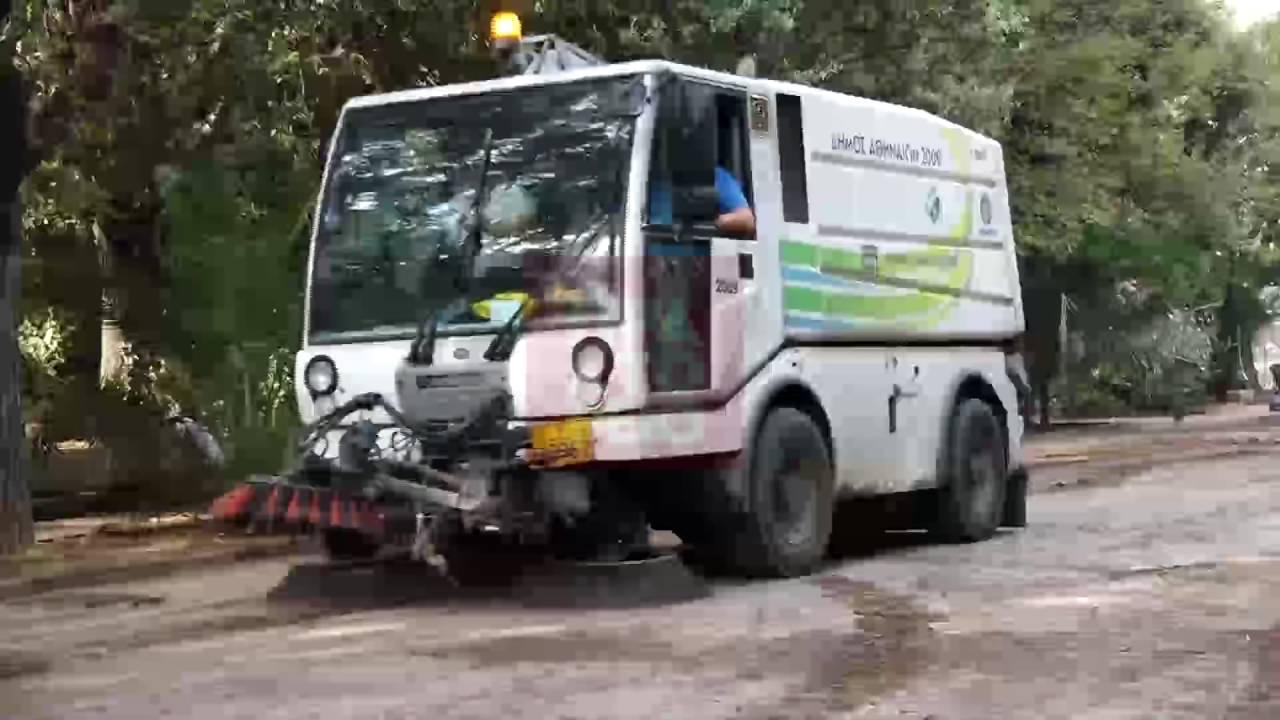 Επιχείρηση καθαριότητας σε τρία άλση της Αθήνας