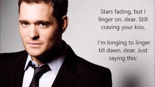 Michael Buble - Dream A Little Dream Of Me (Lyrics On Screen)
