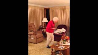 93-Year-Old Grandma Cheering For Her Favorite Team