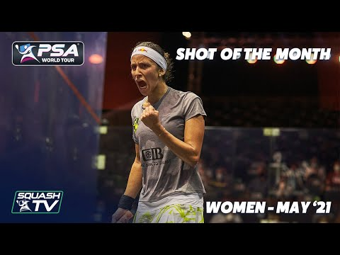 Squash: Shot of the Month - May 2021 - Women