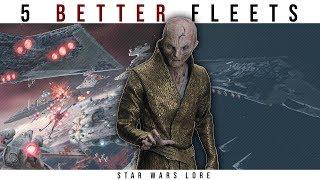 Video 5 Fleets that Could Destroy Snoke's Armada | Star Wars Legends Lore MP3, 3GP, MP4, WEBM, AVI, FLV Maret 2018