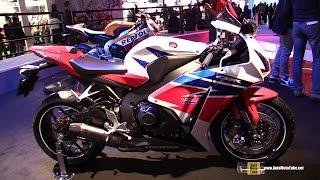 8. 2015 Honda CBR1000RR Fireblade ABS - Walkaround - 2014 EICMA Milan Motorcycle Exhibition