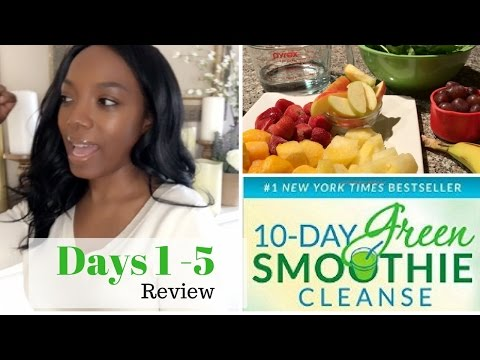 10-Day Green Smoothie Cleanse Review| Days 1-5 Snack ideas + Tips