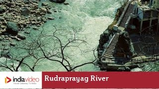 Rudraprayag India  City pictures : Flowing together - Rudraprayag River | India Video