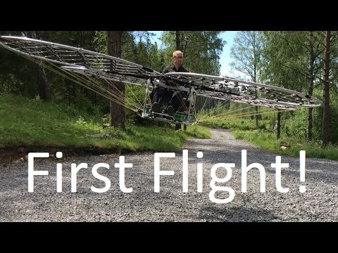 Test Flight Footage Of Guy s Homemade Manned MultiRotor