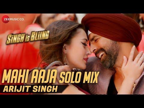 Mahi Aaja Solo Mix by Arijit Singh   Lyrical   Sin